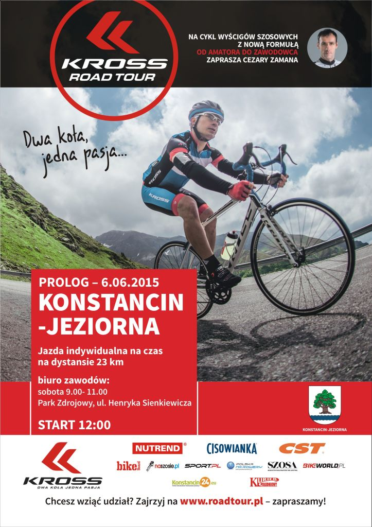 Kross Road Tour 2015 Konstancin Jeziorna