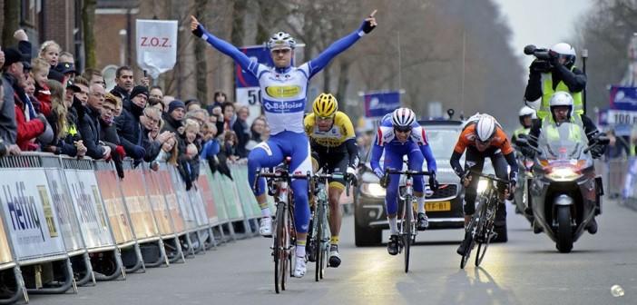 Edward Theuns wygrał trzeci etap Tour de l'Eurometropole!