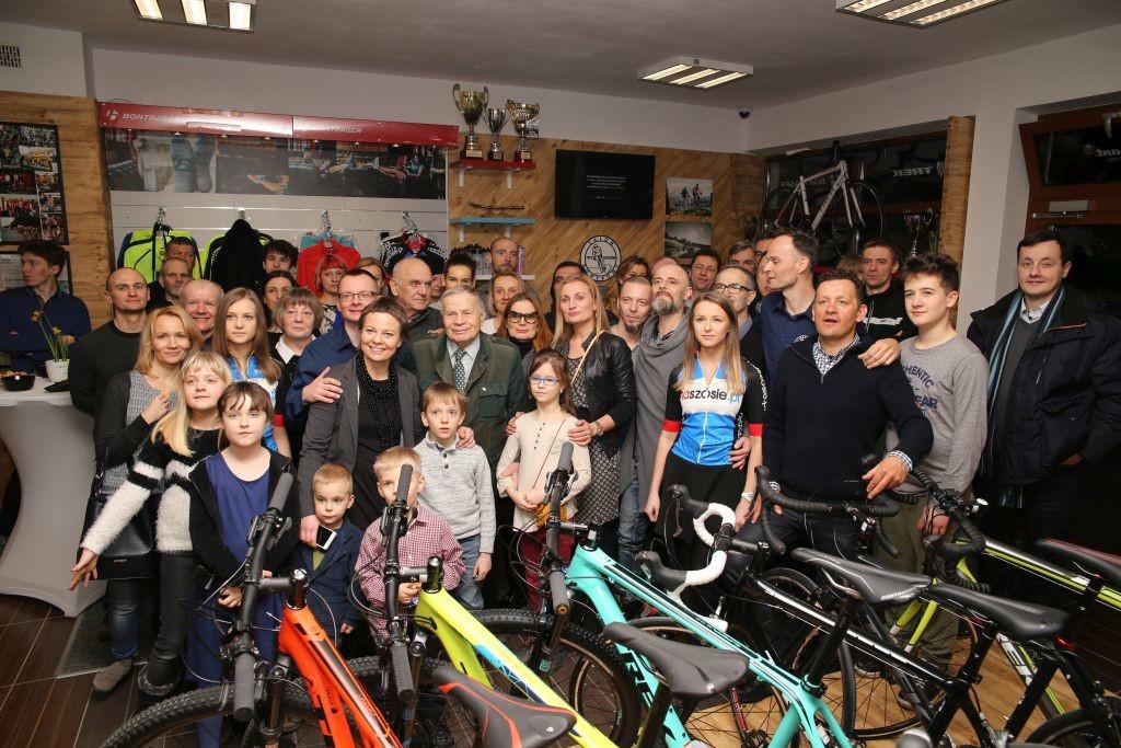 Salon rowerowy Naszosie