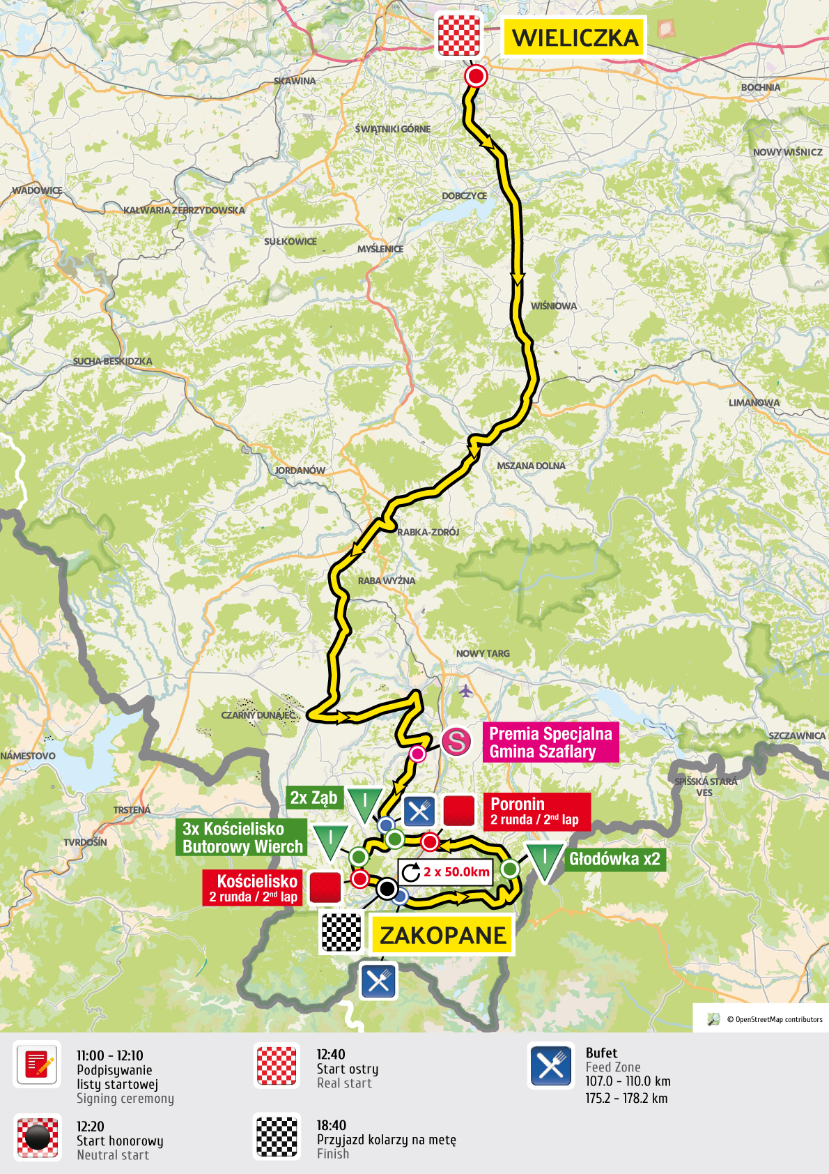 etap 5 mapa Tour de Pologne 2016 UCI World Tour