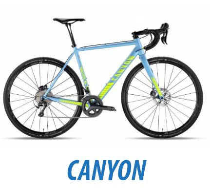Rowery przełajowe Canyon