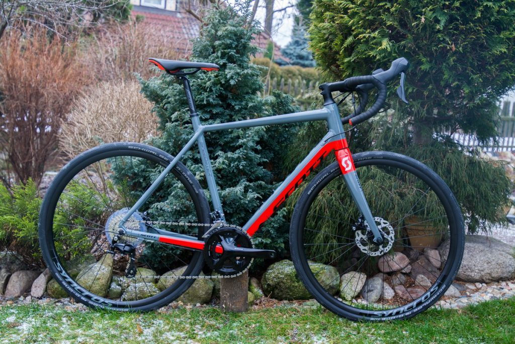 scott speedster gravel 10 disc test