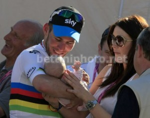 Mark Cavendish Peta Todd