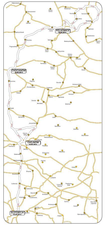 grody 2. etap mapa