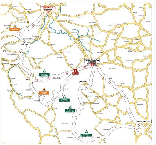 mapa 1. etap Grody