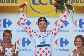 Cycling: 101th Tour de France / Stage 9