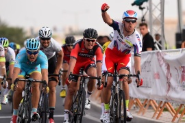 Cycling: 14th Tour of Qatar 2015 / Stage 2