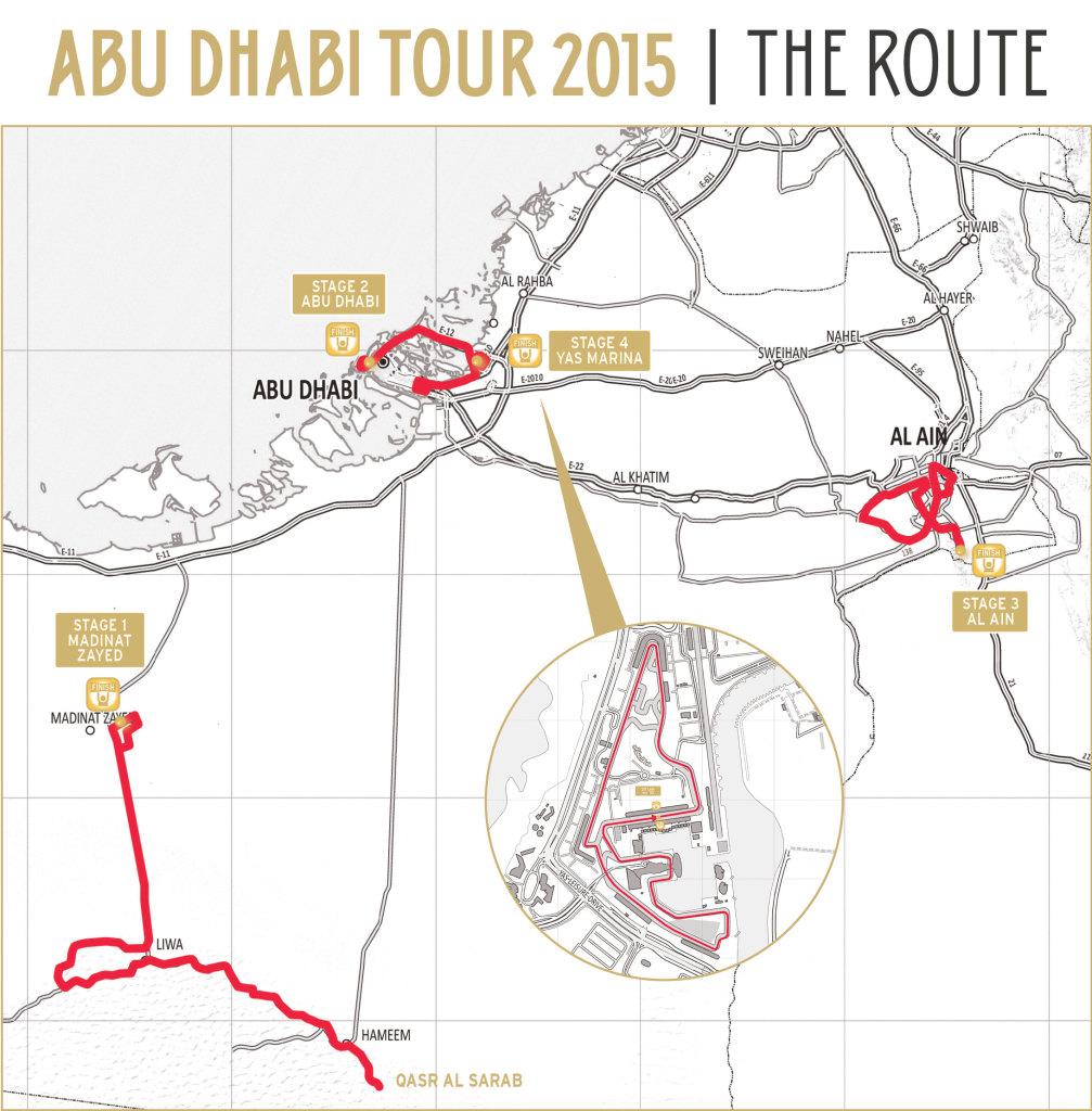 Trasa Abu Dhabi Tour 2015