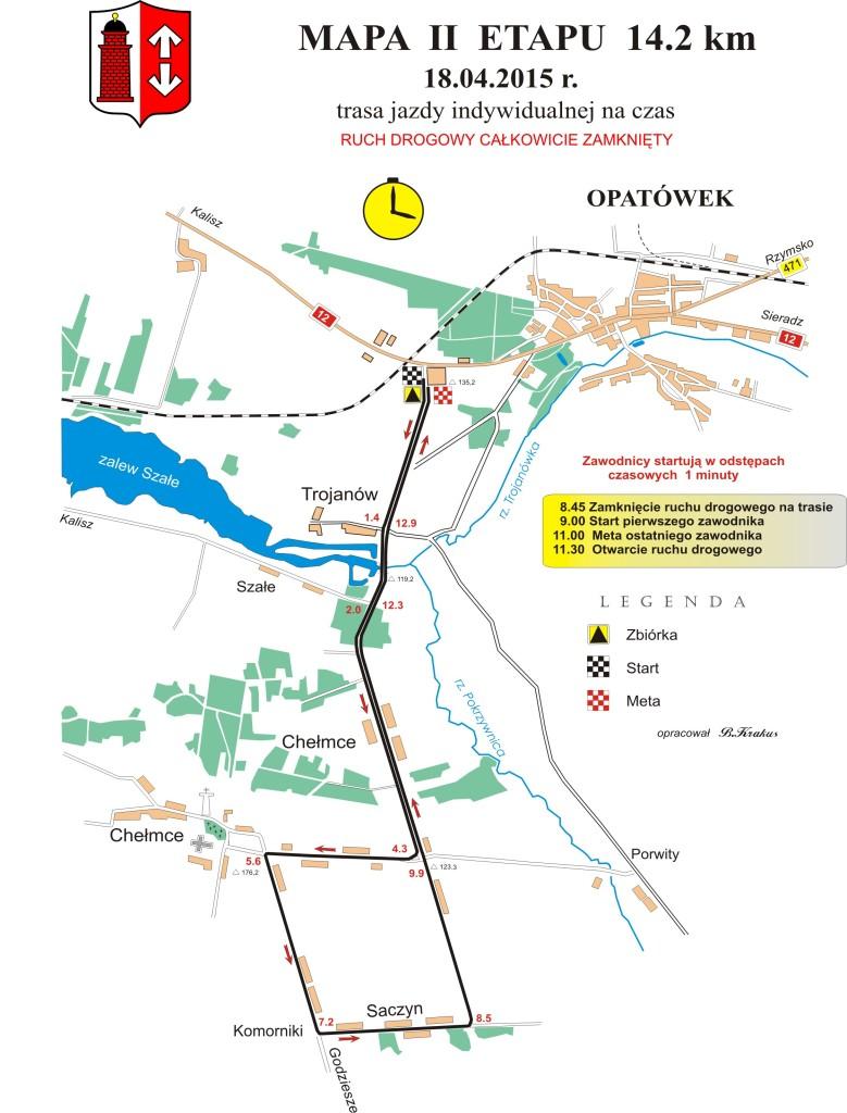 Hellena Tour  mapa 2-etap