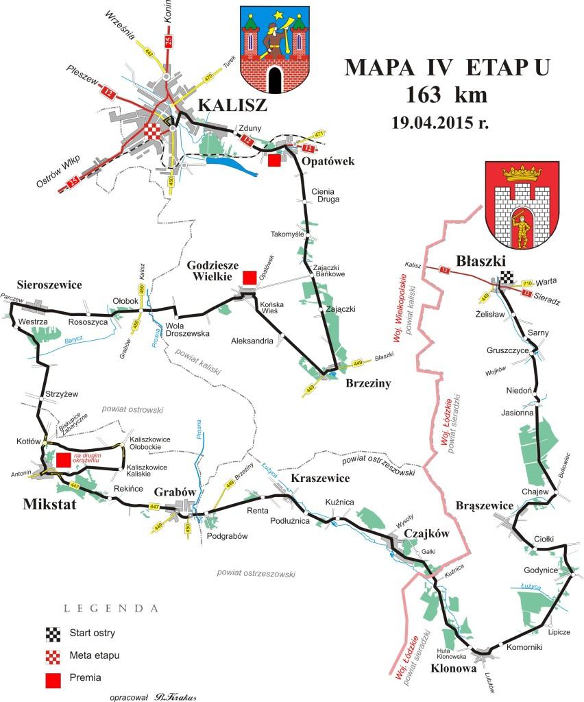 Hellena Tour  mapa 4-etap