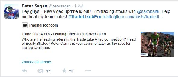 Trade Like a Pro - Sagan