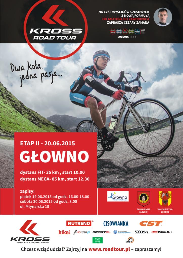 Kross Road Tour - II etap Głowno