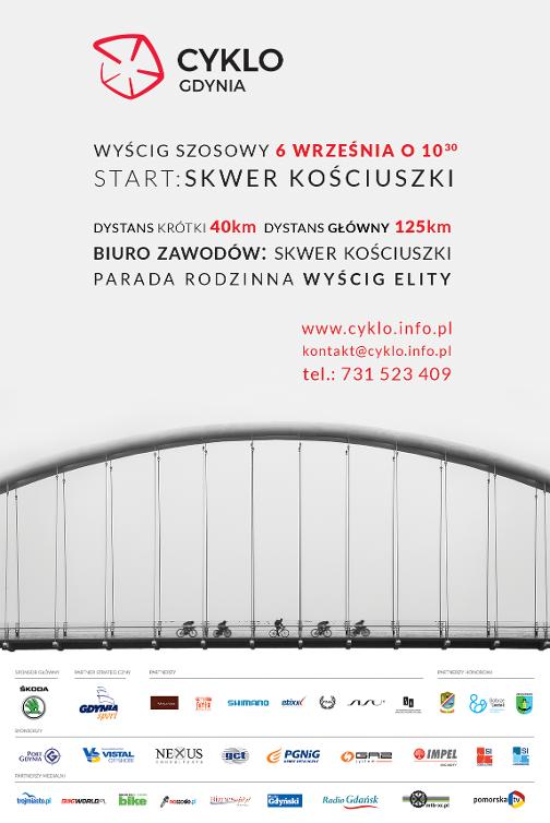 Cyklo Gdynia 2015 - plakat