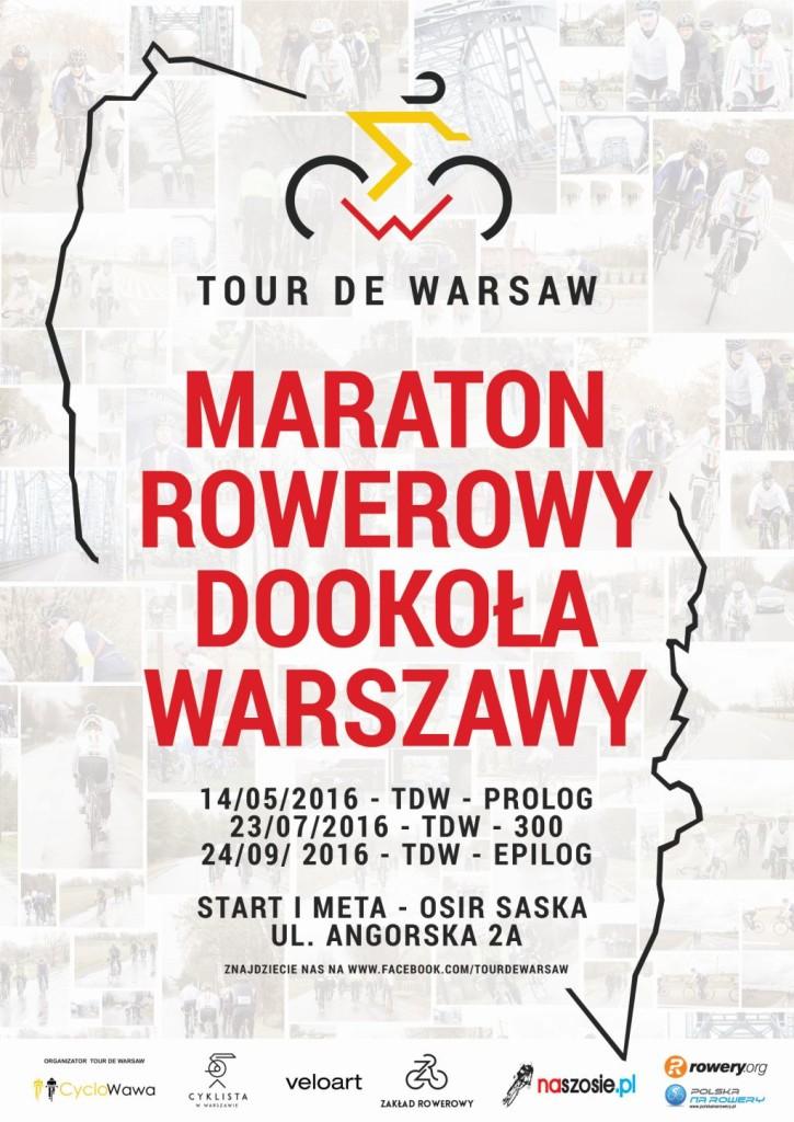 Tour de Warsaw 2016 plakat