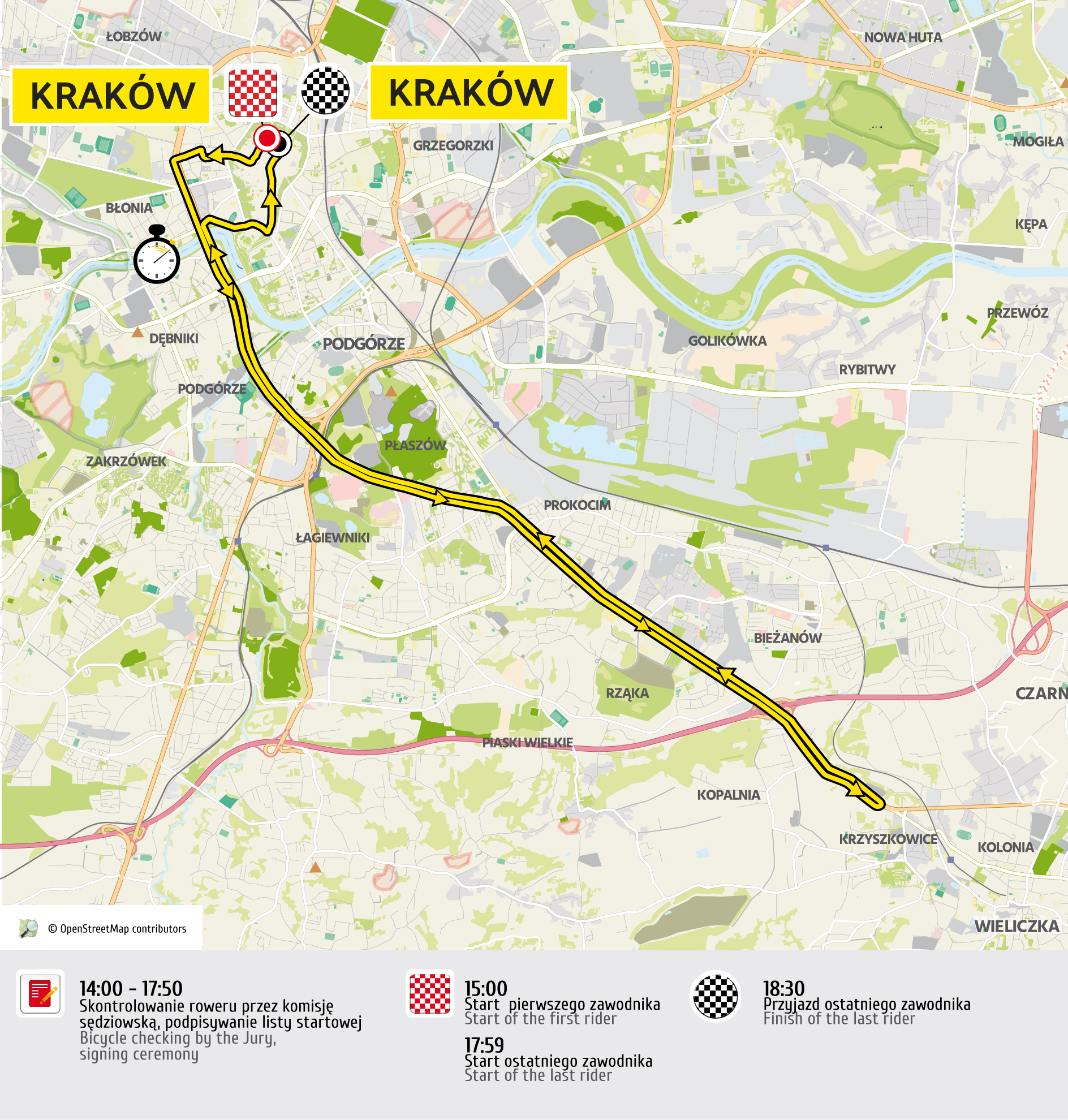 etap 7 mapa Tour de Pologne 2016 UCI World Tour