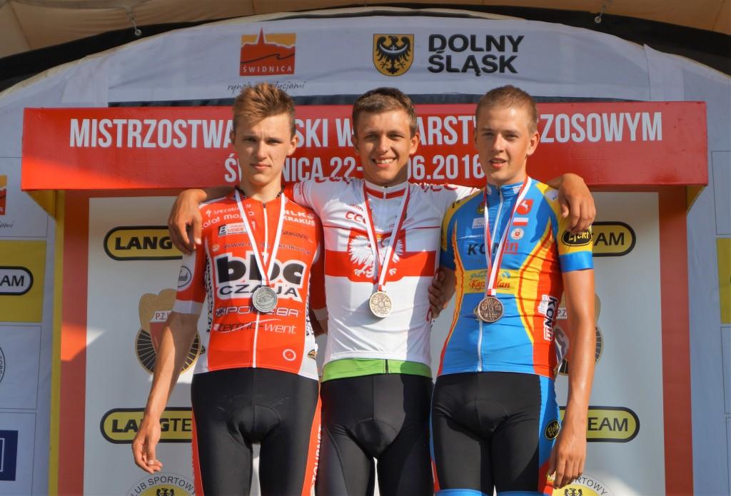 Szymon Krawczyk - mistrz Polski juniorów 2016