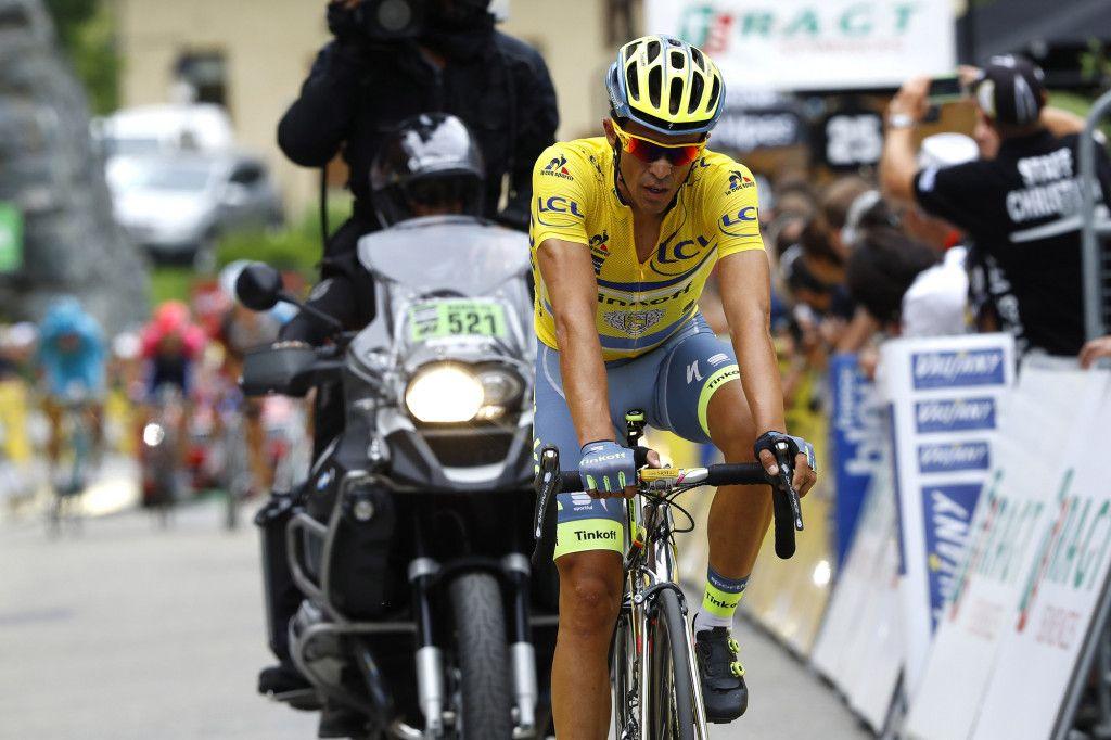 Criterium du Dauphine 2016 - 68a Edizione - 5a tappa La Ravoire - Vaujany 140 km - 10/06/2016 - Alberto Contador (Tinkoff) - foto Luca Bettini/BettiniPhoto©2016