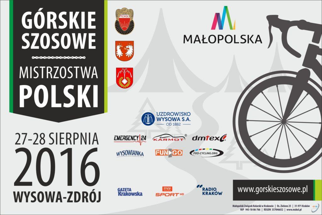 Górskie mistrzostwa Polski w kolarstwie szosowym 2016