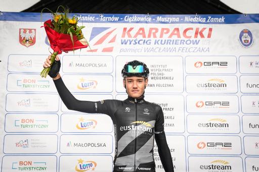 Fran Miholjević wygrał czarną koszulkę eustream dla najlepszego kolarza u21 - niedużo zabrakło, by zgarnął pełną pulę